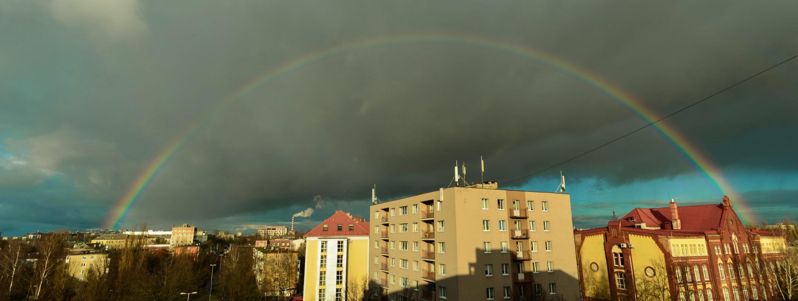 Радуга над Калининградом, 25.12.2019 г.